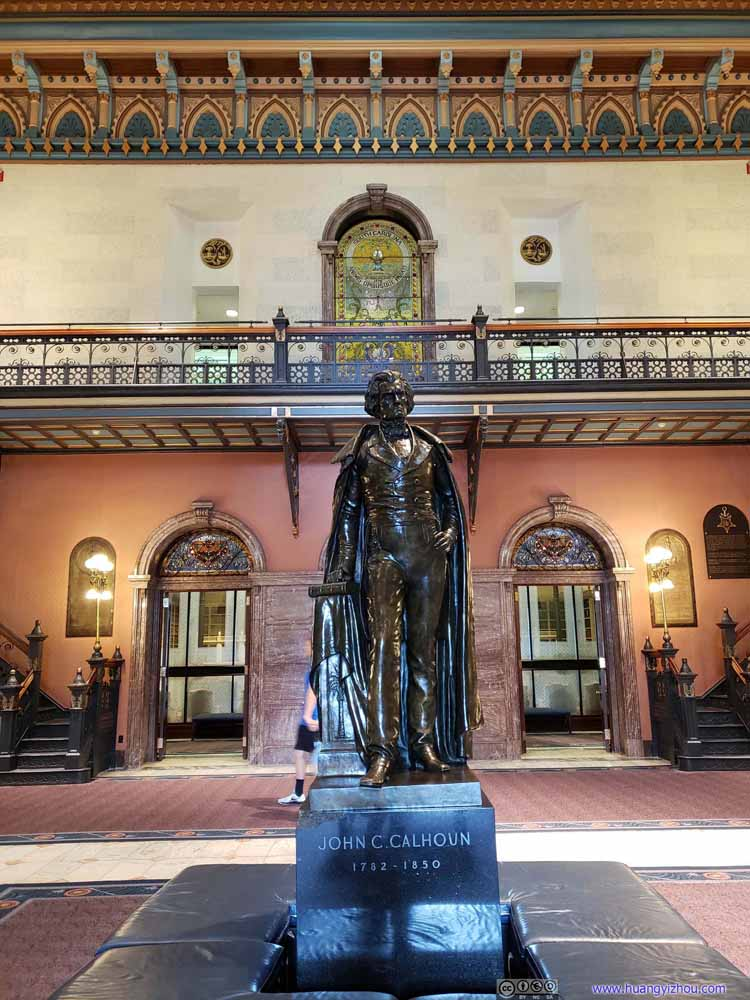 Statue of John C. Calhoun
