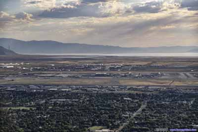 Salt Lake City Airport before Great Salt Lake