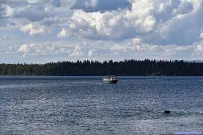 Tour Boat on Jenny Lake