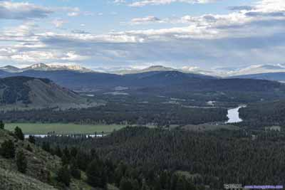 Snake River and Jackson Hole valley