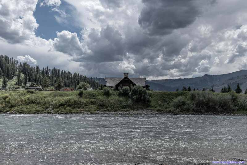 Cabin along Snake River