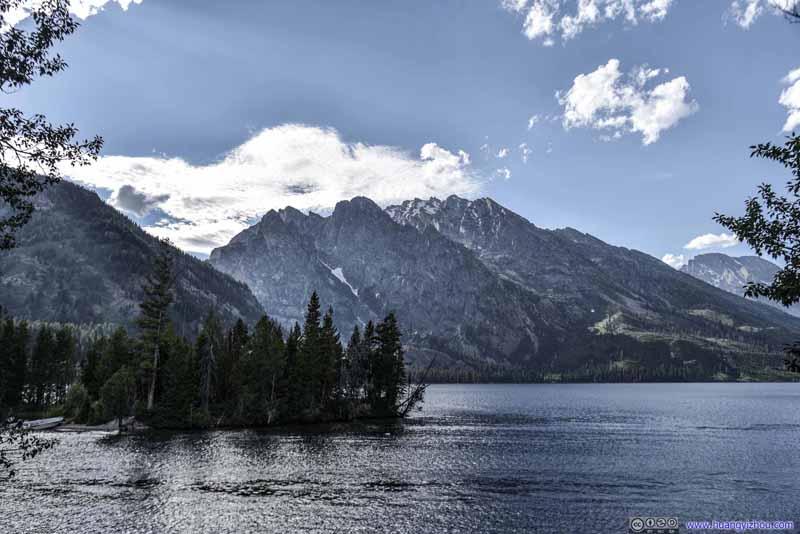 Mt St John behind Jenny Lake