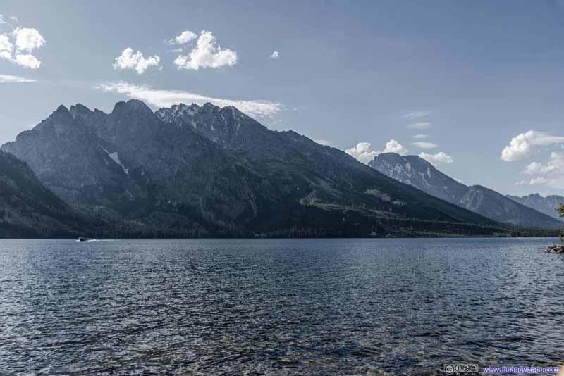 Mt St John across Jenny Lake