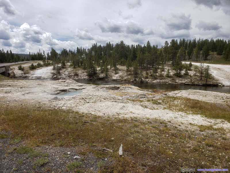 Hill overlooking Firehole River