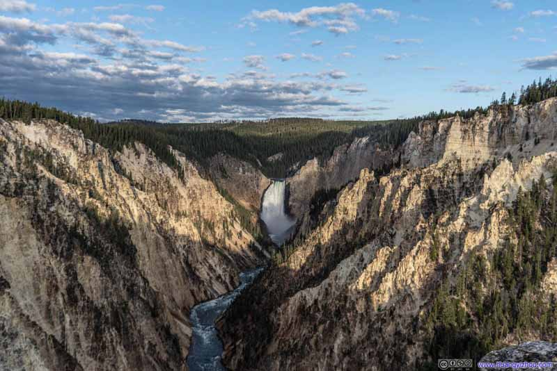 Lower Yellowstone Falls in Canyon