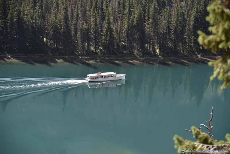 Tour Boat on Lake Josephine