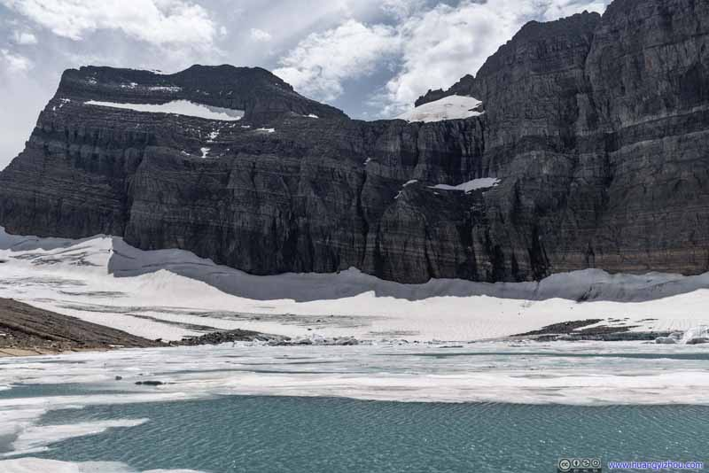 Upper Grinnell Lake and Glacier