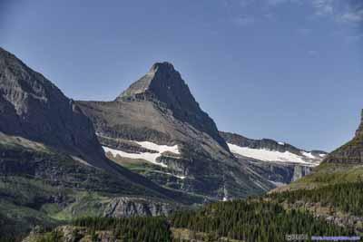 Peak of Mt Grinnell