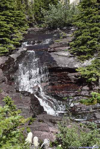 Waterfall on Ptarmigan Creek