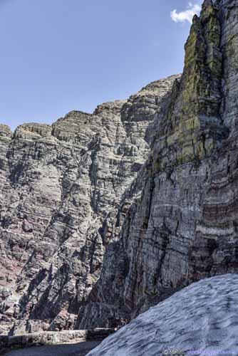 Rocky Surface of Ptarmigan Wall