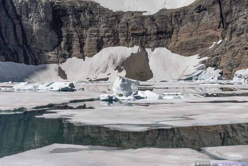 Unbroken Iceberg