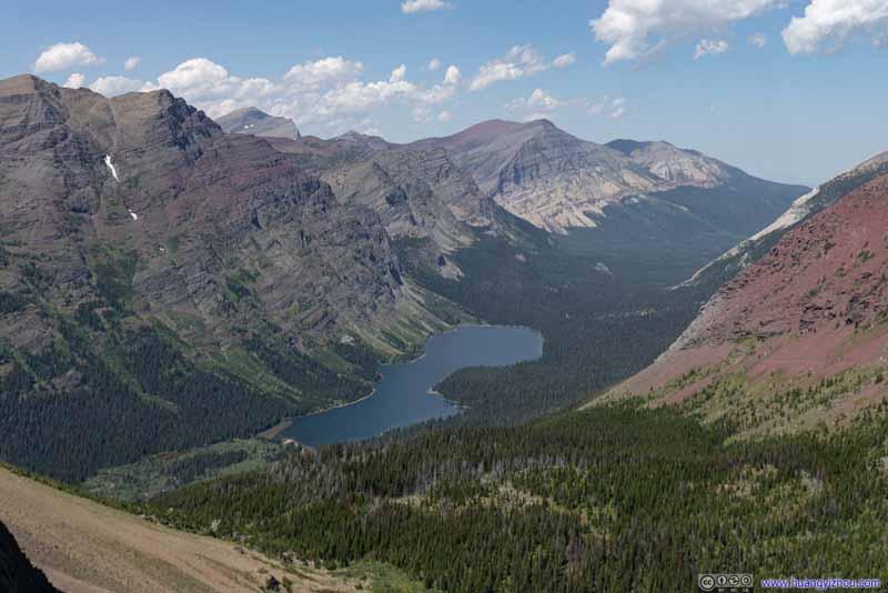 Elizabeth Lake and Surrounding Mountains