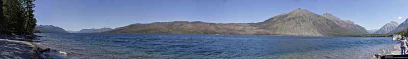 View of Lake McDonald