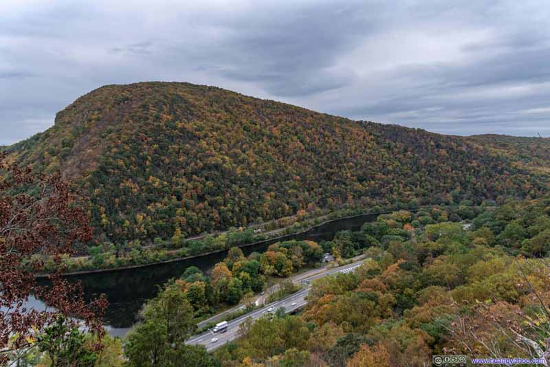 Mount Minsi by Delaware River