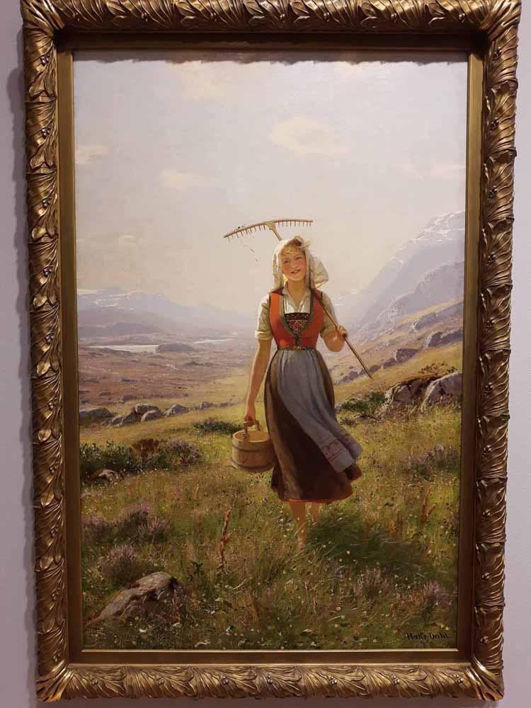 Norwegian Girl by Hans Dahl