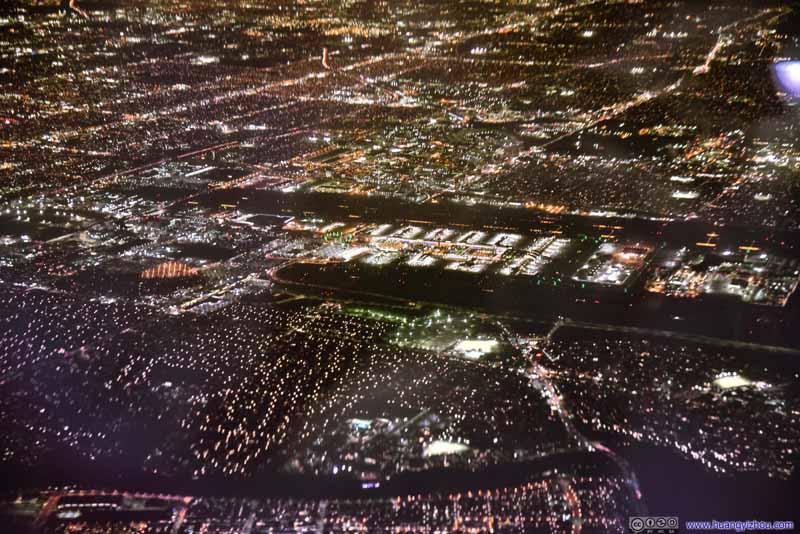 Overlooking Los Angeles Airport