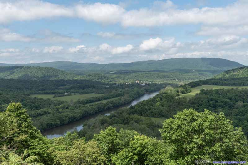 Town of Great Cacapon along Potomac River