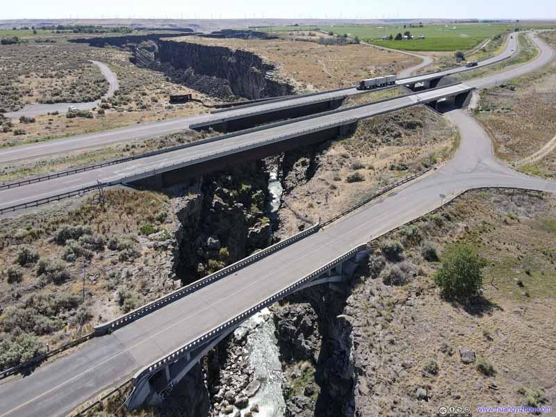 Highways across Malad River
