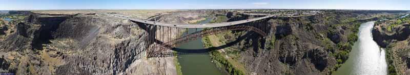 Overlooking Perrine Memorial Bridge