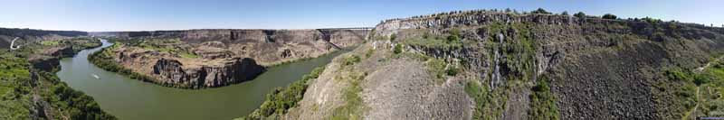Overlooking Snake River
