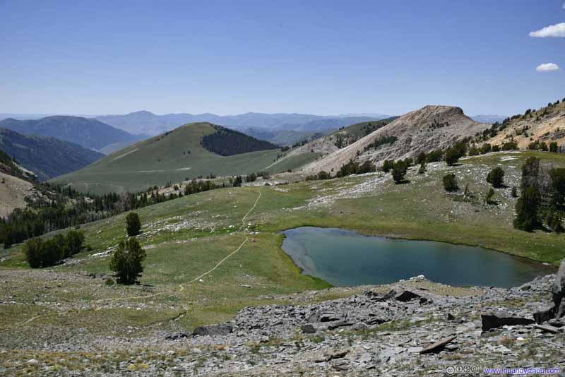 Lake by Hiking Trail