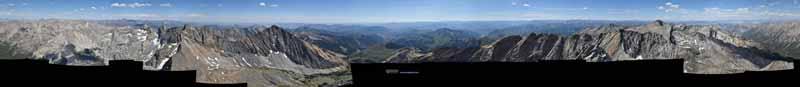View from Hyndman Peak