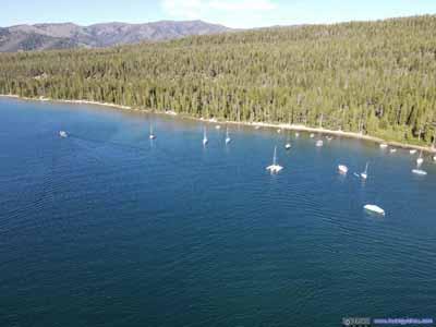 Boats on Redfish Lake