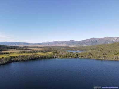 Perkins Lake and Alturas Lake