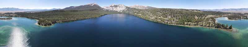 Overlooking Pettit Lake