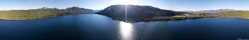 Overlooking Alturas Lake