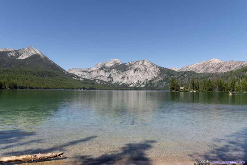 Pettit Lake before Mountains