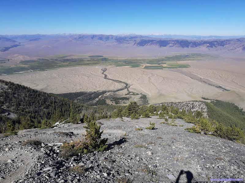 Overlooking Lost River Valley