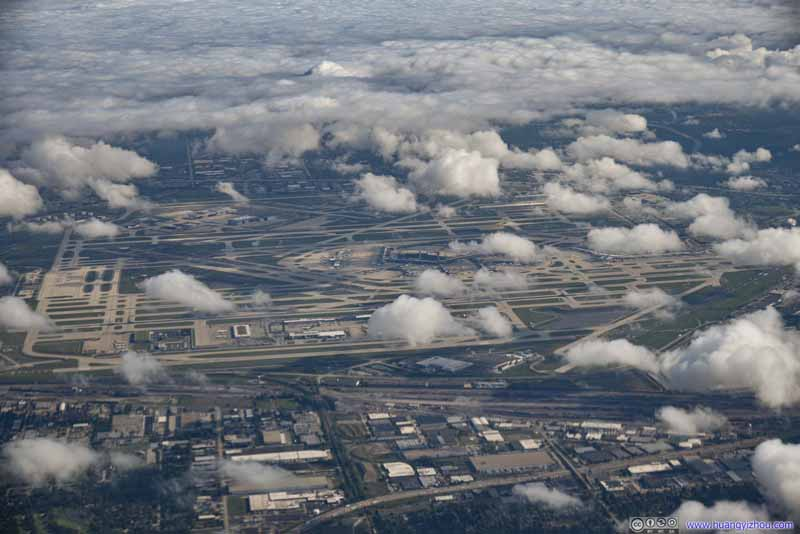 Overlooking Chicago O'Hare Airport