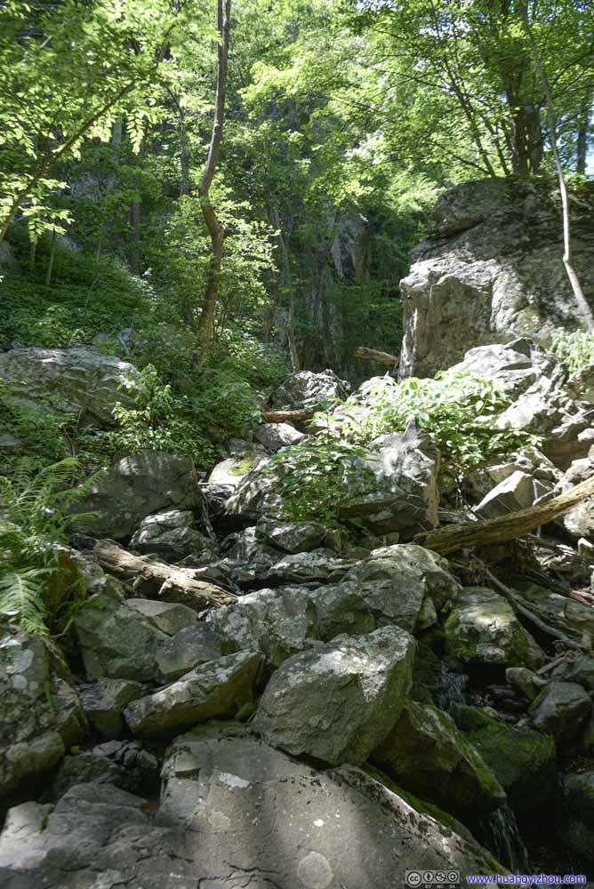 Trail on Rocks