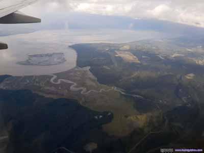 Knik Arm and Surrounding Marshland