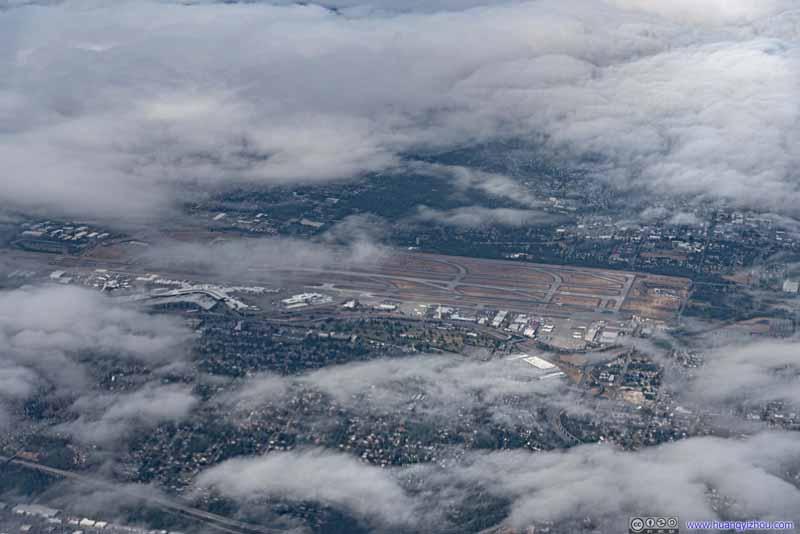 Overlooking Seattle Airport