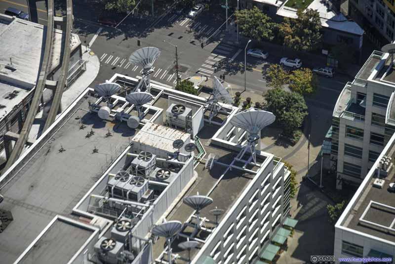 Roof of KOMO News Building
