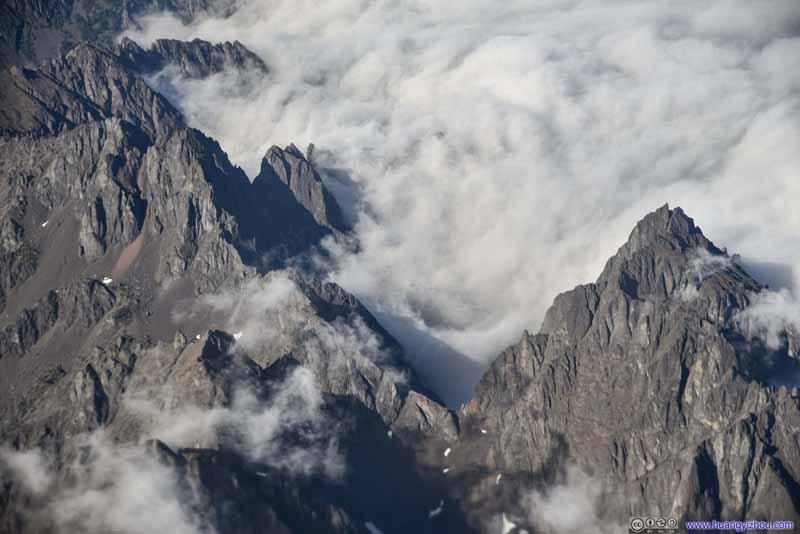 Warrior Peak and Mount Constance