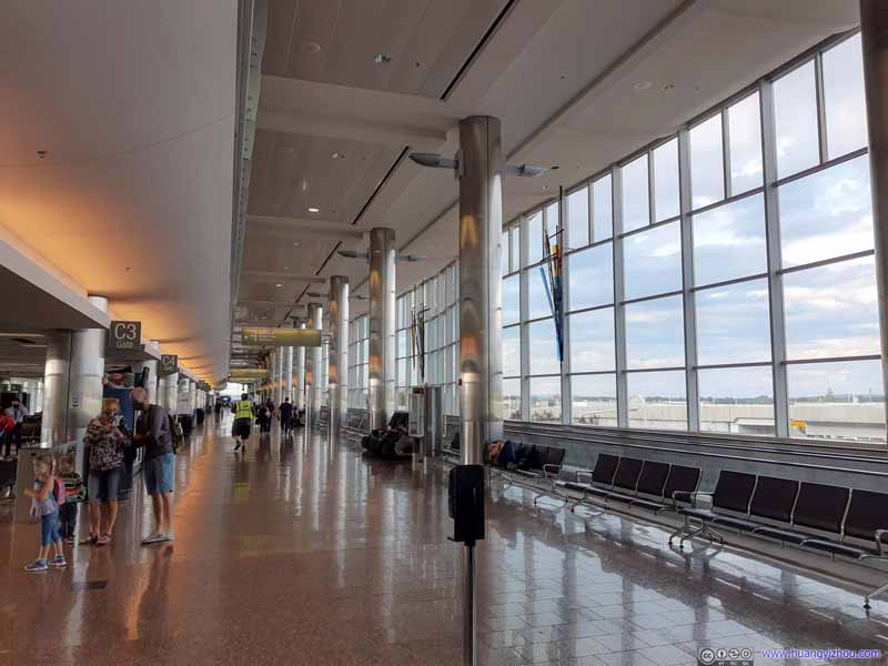 Anchorage Airport Terminal Interior