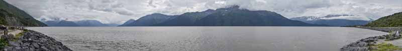 Turnagain Arm from Shore