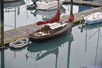 Boats in Seward Harbor