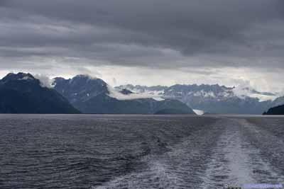 Distant Aialik Glacier