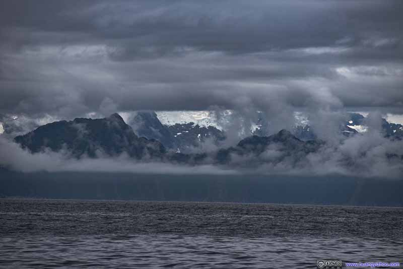 Rolling Clouds over Glaciers