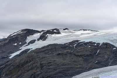 Exit Glacier on Mountain