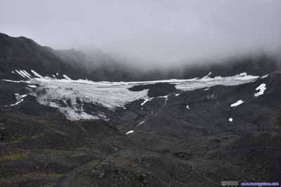 Ice on Mountains