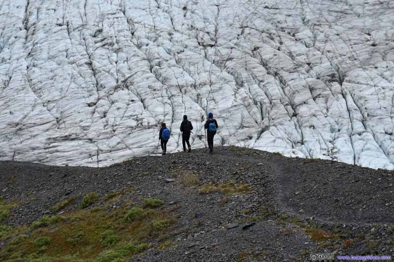 Trail to Harding Ice Field