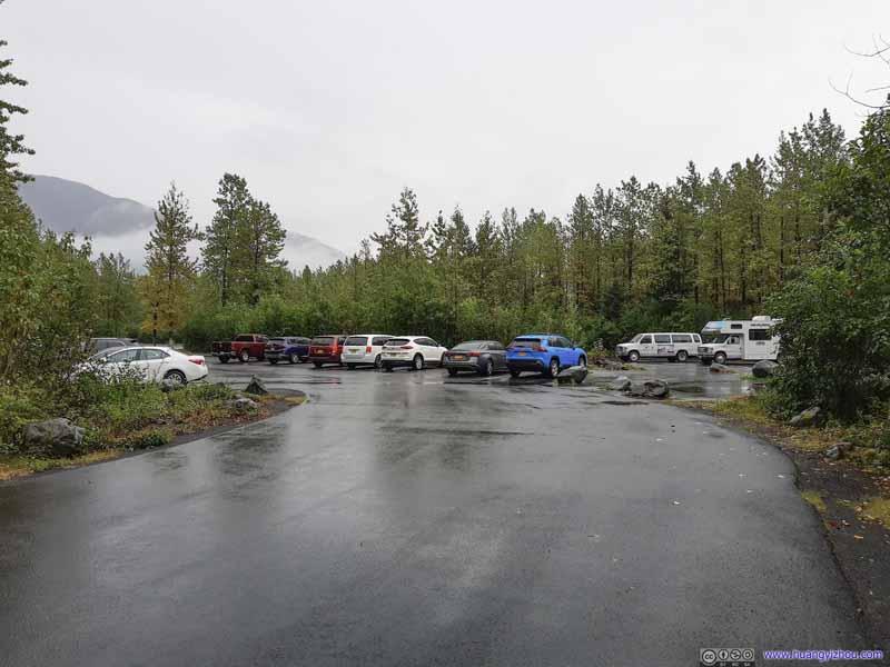 Trailhead Parking Lot