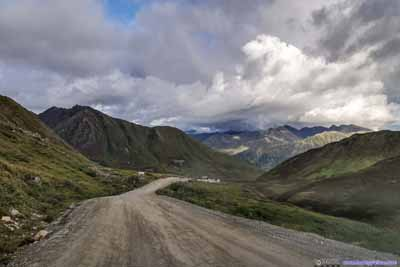 Road from Hatcher Pass