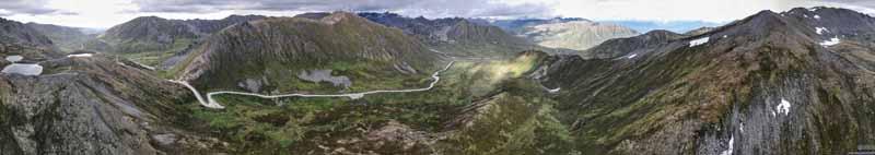 Overlooking Hatcher Pass