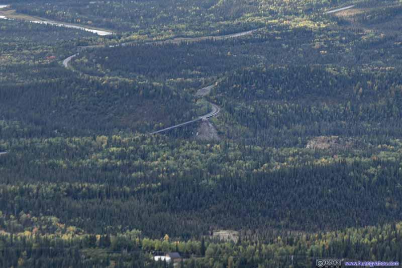Railway Bridge over Canyon